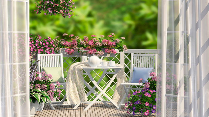 home comfort and flowers