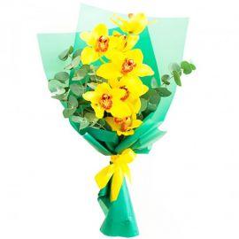 7 орхидей желтых