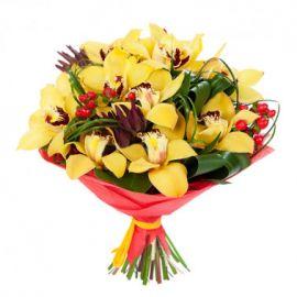 15 орхидей желтых