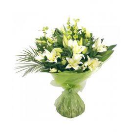 21 лилия белая