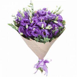 19 эустом фиолетовых