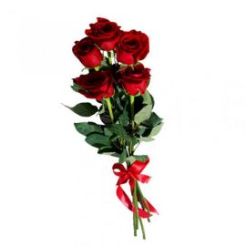 5 роз красных