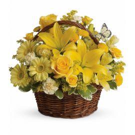 7 гвоздик 5 хризантем кустовых 4 розы кустовые 3 герберы 3 розы 1 лилия
