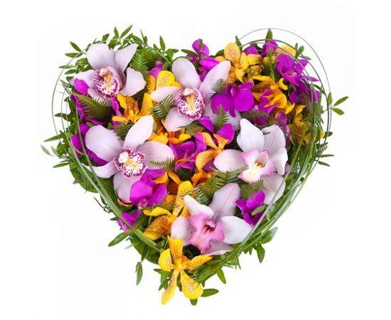 12 альстромерий 5 орхидей
